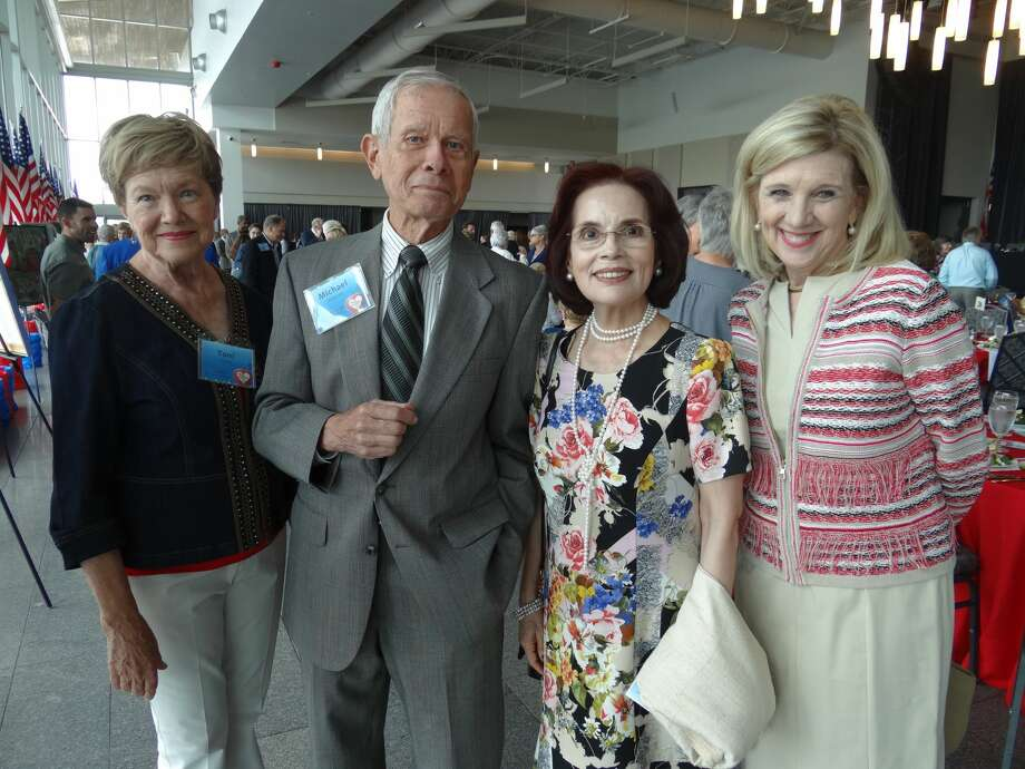 Toni Clark, Michael Warren, Liliana Greenweld, Kimberly Goodson Photo: Shelly Vitanza