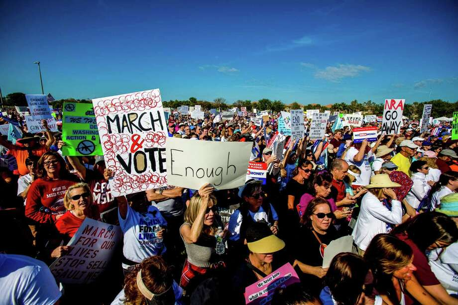 The March for Our Lives rally in Parkland, Fla., in March is one example of young people telling us what they need. In this case, being safe. What they want can be very good for all of us. Photo: Saul Martinez /New York Times / NYTNS