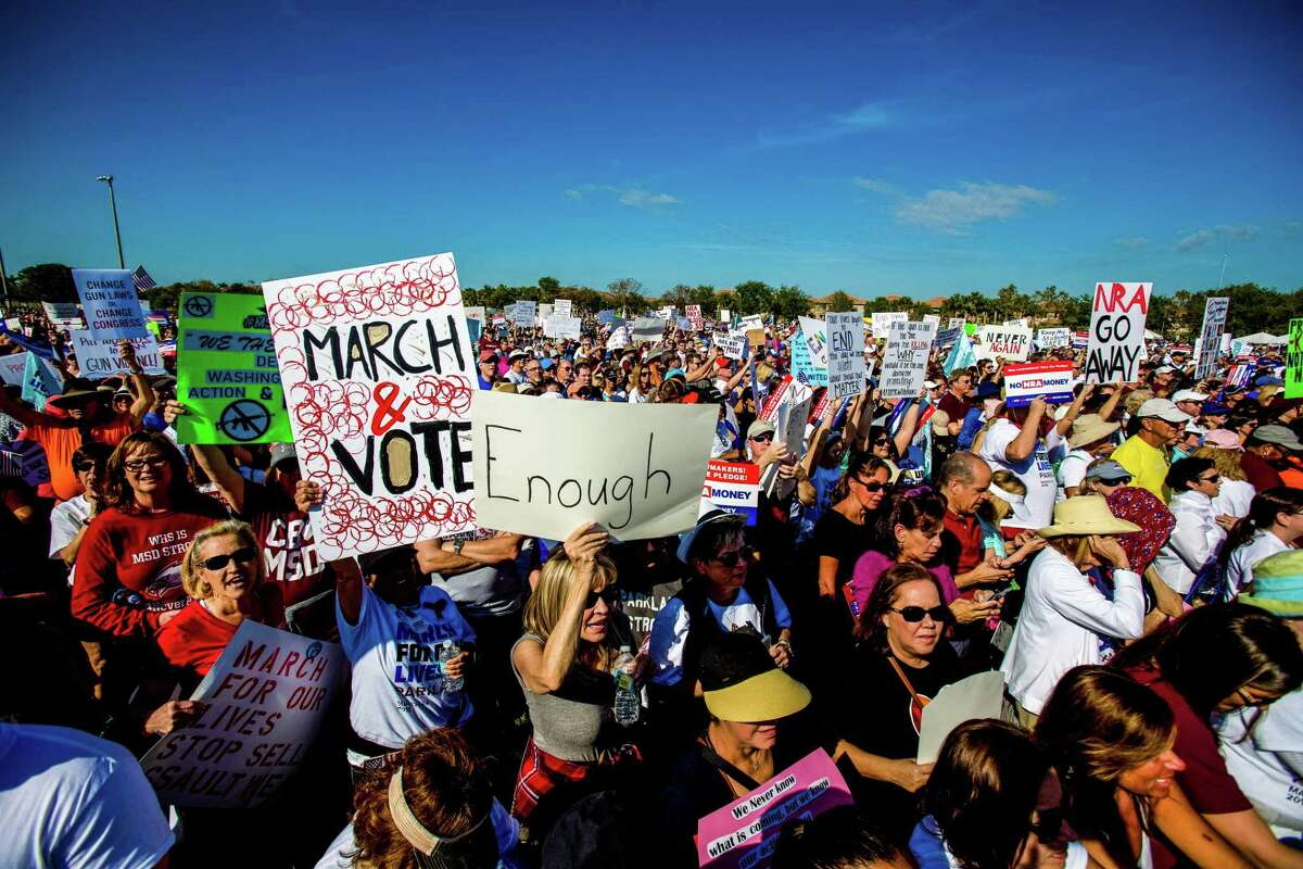 The March for Our Lives rally in Parkland, Fla., in March is one example of young people telling us what they need. In this case, being safe. What they want can be very good for all of us.