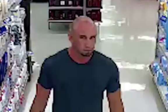 Police in Tomball are searching for a man who allegedly took photos or video of a child inside a Walmart changing room May 12, 2018. Anyone with information about the man is urged to call detectives at 281-351-5451.