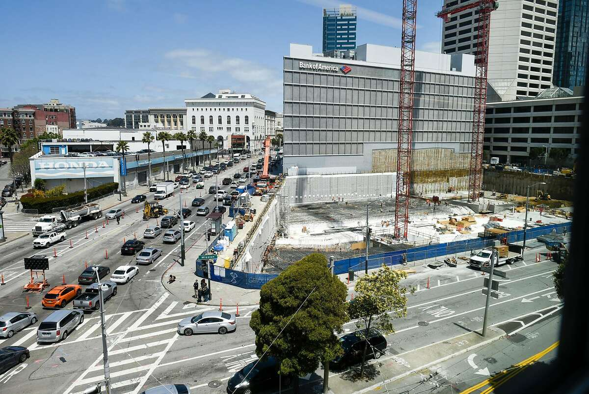 The construction site on Mission and Van Ness Street in San Francisco, Calif., on Thursday May 31, 2018.