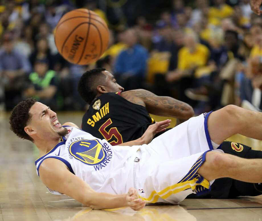 Houston Rockets House Jr: Warriors' Klay Thompson Questionable For Game 2 Vs