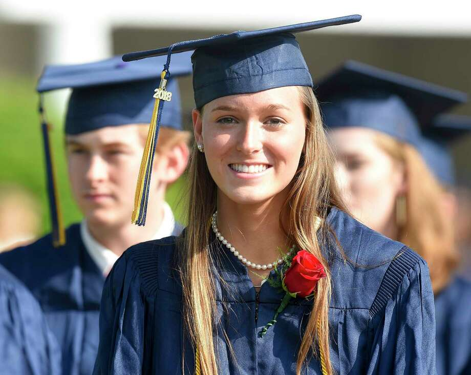 King School Class of 2018 Commencement Exercises on June 1, 2018 in Stamford, Connecticut. Photo: Matthew Brown, Hearst Connecticut Media / Stamford Advocate