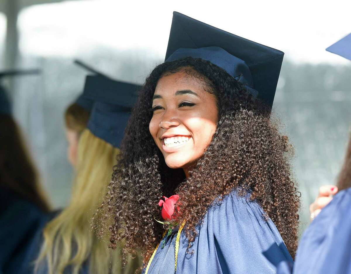 King School Class of 2018 Commencement Exercises on June 1, 2018 in Stamford, Connecticut.
