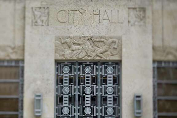 City Hall in downtown Houston.