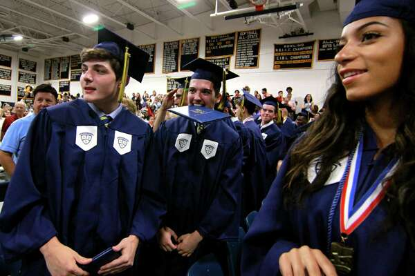 Notre Dame of Fairfield's Class of 2018 Commencement Exercises in Fairfield, Conn., on Friday, June 1, 2018.