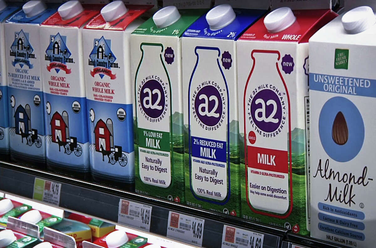 FILE. Letter writer says paperboard milk cartons not the worry when it comes to the recent ban of PFAS in food packaging. These types of containers, writer says, don't have the chemicals. (AP Photo/Michael Hill)