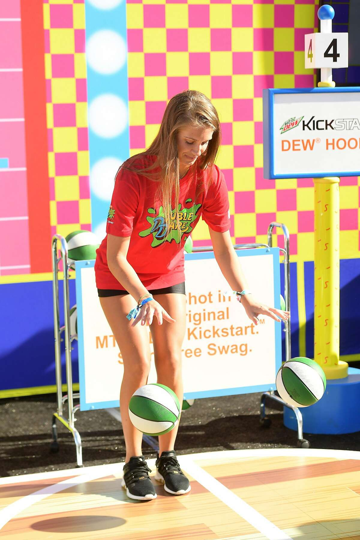 SAN FRANCISCO, CA - JUNE 01: Jenna Compono attends Double Dare presented by Mtn Dew Kickstart at Comedy Central presents Clusterfest on June 1, 2018 in San Francisco, California. (Photo by Matt Winkelmeyer/Getty Images for Mountain Dew)