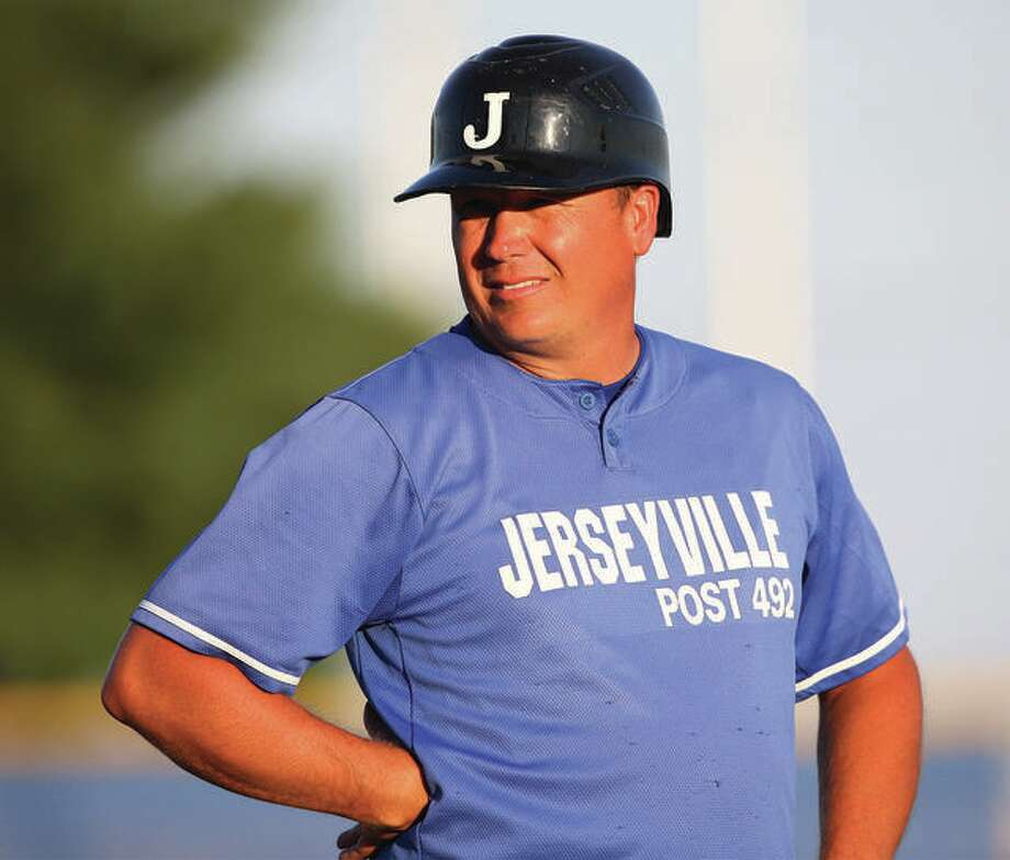 Jersey American Legion Post 492 baseball team manager Darren Perdun's team will open its season at 11 a.m. Saturday with a doubleheader on the road against Belleville Post 58 at Whitey Herzog Field. Photo:     Telegraph File Photo