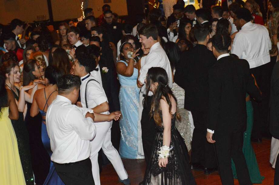 Stamford High School held its senior prom at the Hyatt Regency Greenwich on June 1, 2018. The senior class graduates June 22. Were you SEEN at prom? Photo: Todd Tracy / Hearst CT Media