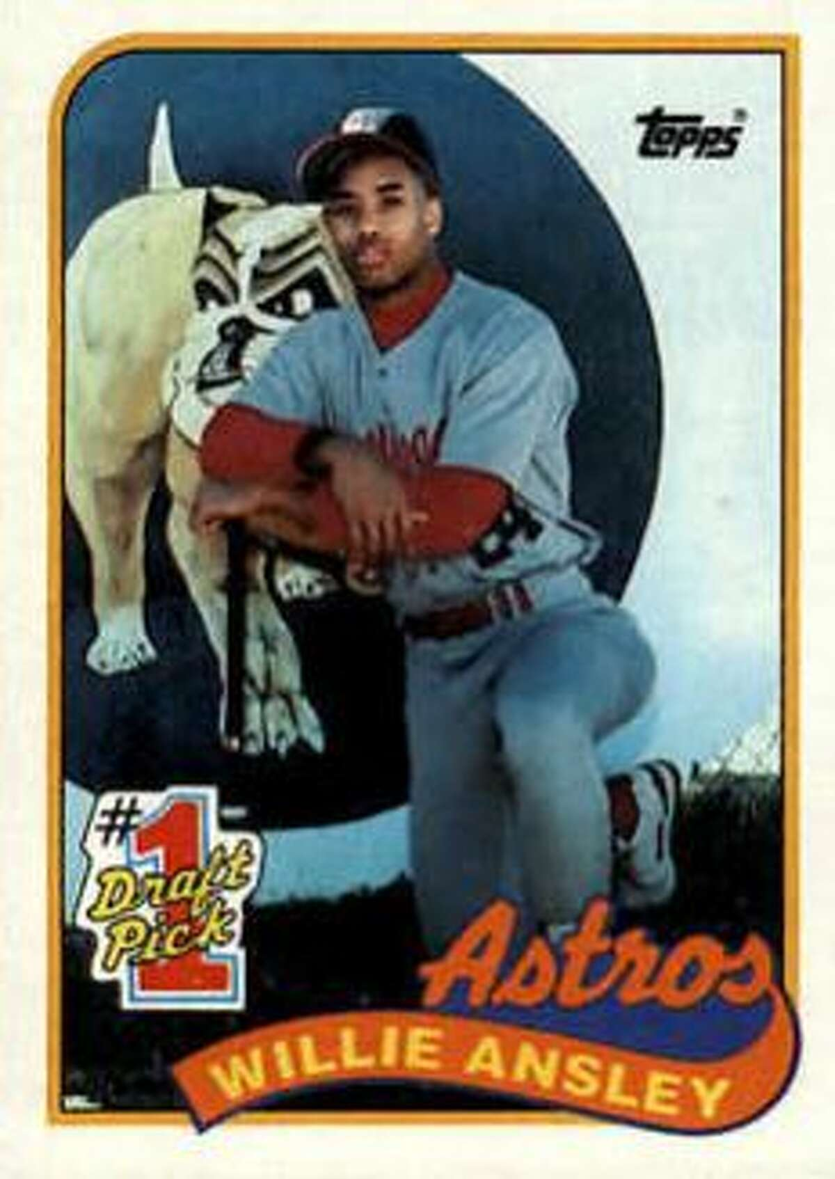 WORST: No. 8 Willie Ansley, outfield (7th overall, 1988) A year after getting Craig Biggio in the first round, the Astros grabbed Ansley out of Plainview High School near the the top of the first round, and he never made the big leagues. In five minor league seasons, Ansley made it to Class AAA before being released and toiling in independent baseball.