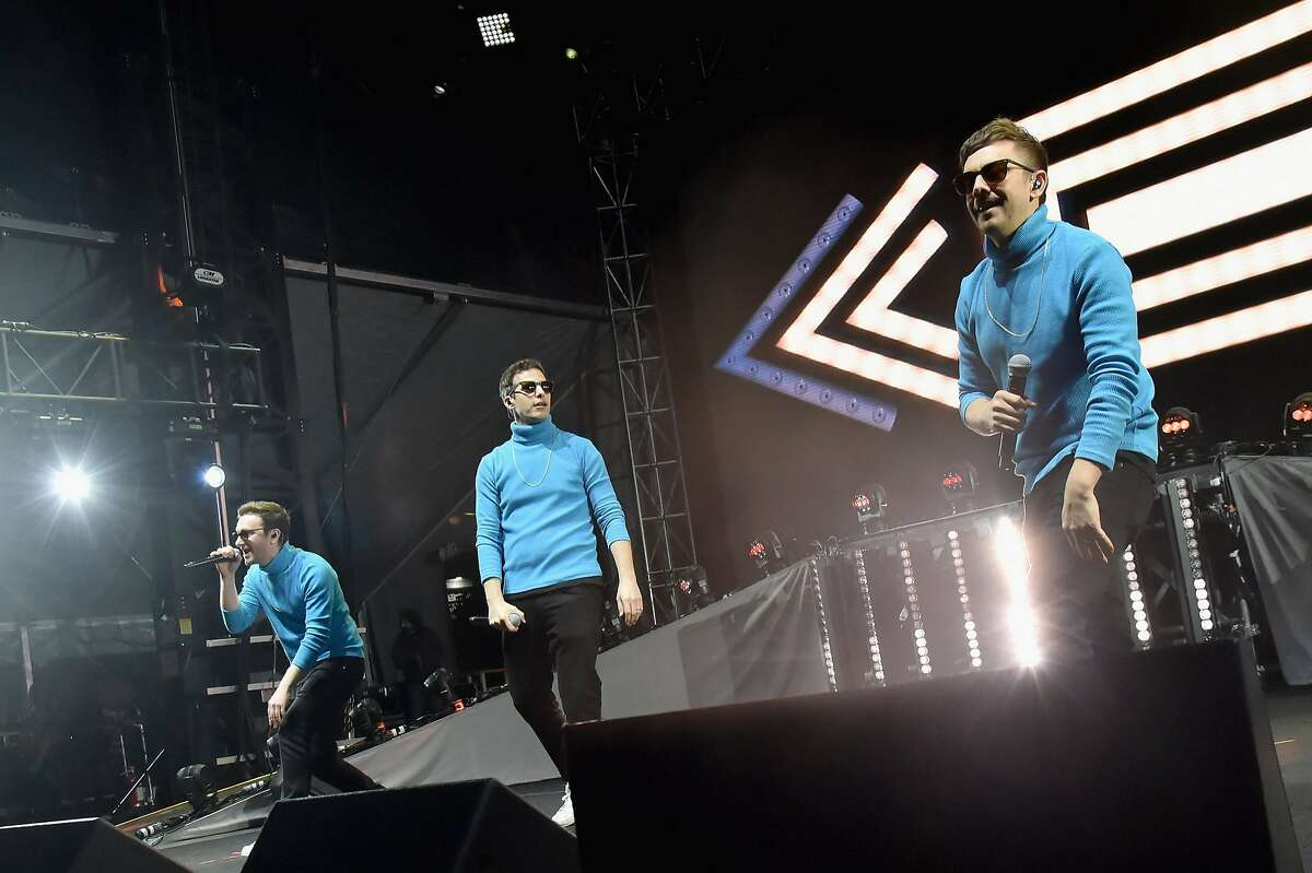The Lonely Island performed at the second annual Clusterfest on Friday, June 1, in San Francisco.