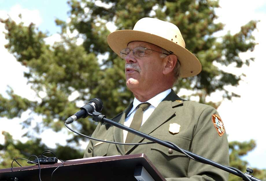 Yellowstone National Park Superintendent Dan Wenk faced possible transfer to a position in Washington, D.C. Photo: Matthew Brown / Associated Press 2017