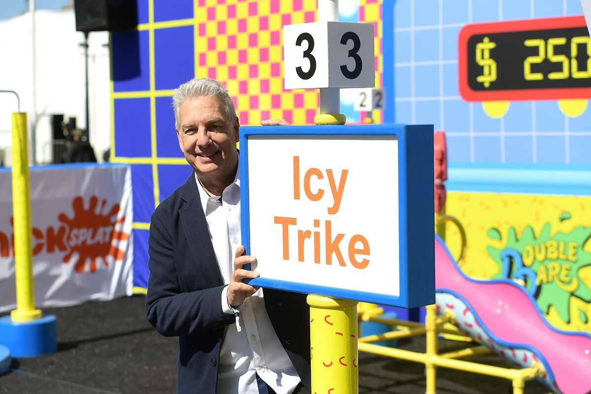 SAN FRANCISCO, CA - JUNE 01: Marc Summers attends Double Dare presented by Mtn Dew Kickstart at Comedy Central presents Clusterfest on June 1, 2018 in San Francisco, California. (Photo by Matt Winkelmeyer/Getty Images for Mountain Dew)