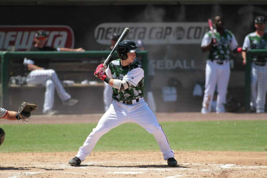 Shelton's Matt Batten hit .341 at High-A Lake Elsinore and recently earned a promotion to Double-A. Photo: Courtesy Of Lake Elsinore Storm