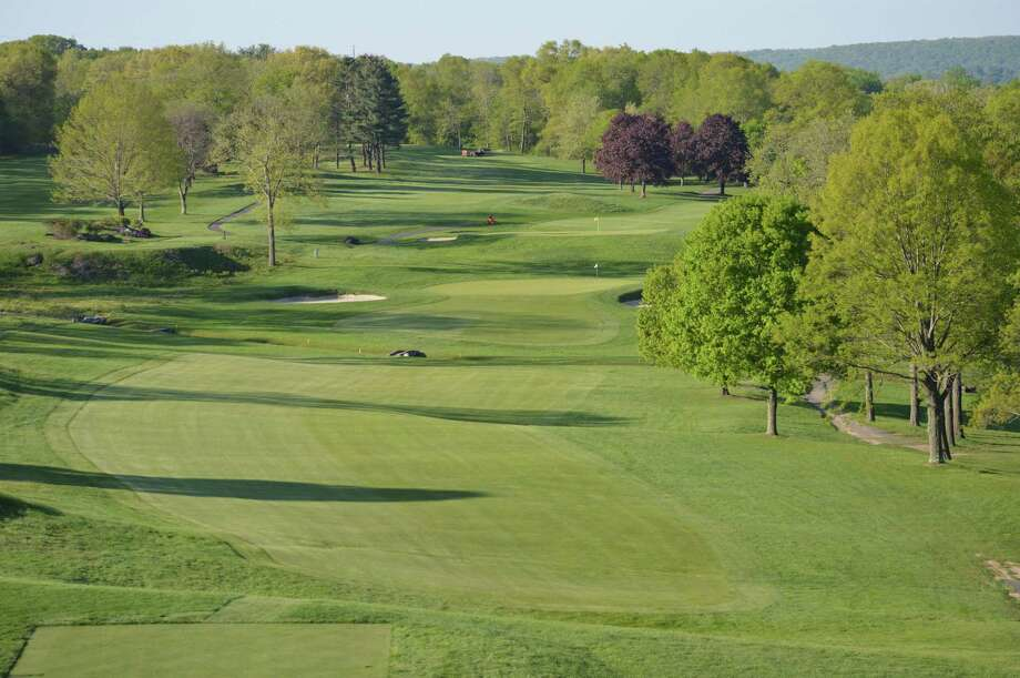 The first hole at Country Club of Waterbury, site of the 116th Connecticut Amateur. Photo: Courtesy Of The CSGA