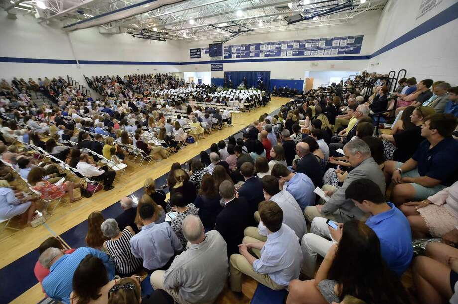 Milford,  Connecticut - June 2, 2018: Lauralton Hall Class of 2018 Graduation Saturday at Lauralton Hall in Milford. Photo: Peter Hvizdak, Hearst Connecticut Media / New Haven Register