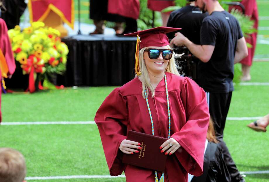 St. Joseph's Class of 2018 Commencement Exercises in Trumbull, Conn., on Saturday, June 2, 2018. Photo: Christian Abraham, Hearst Connecticut Media / Connecticut Post