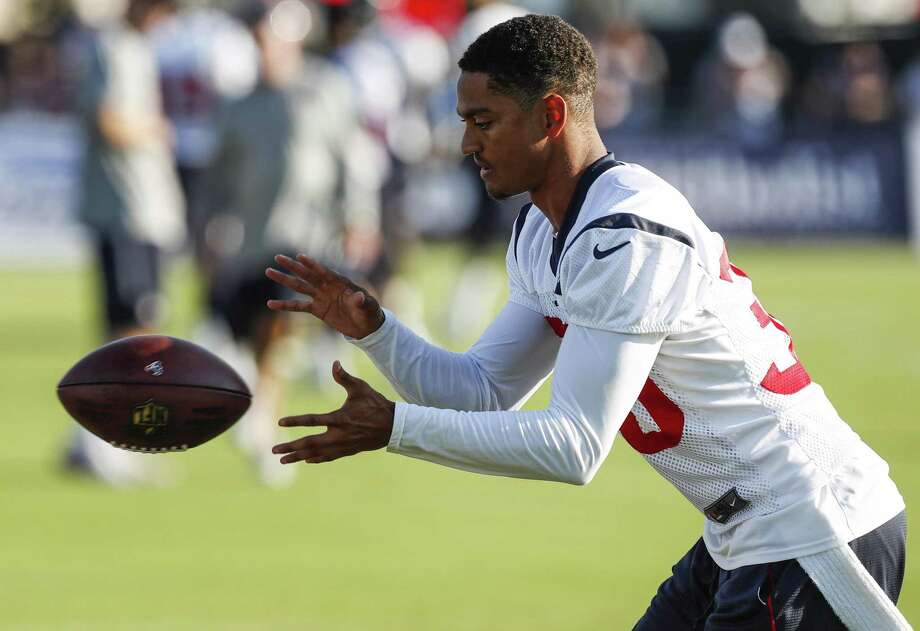 Texans cornerback Kevin Johnson has been limited to a combined 18 games (seven starts) in his last two seasons because of injuries. Photo: Brett Coomer, Staff / Houston Chronicle / © 2017 Houston Chronicle}