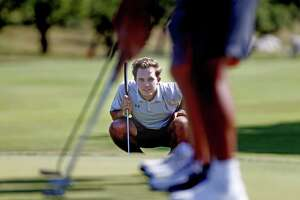 Johnson's Garrett Martin is the boys player of the year. 10 athletes named to the 2018 Express-News All-Area Super Team for golf at TPC on Wednesday, May 30, 2018.