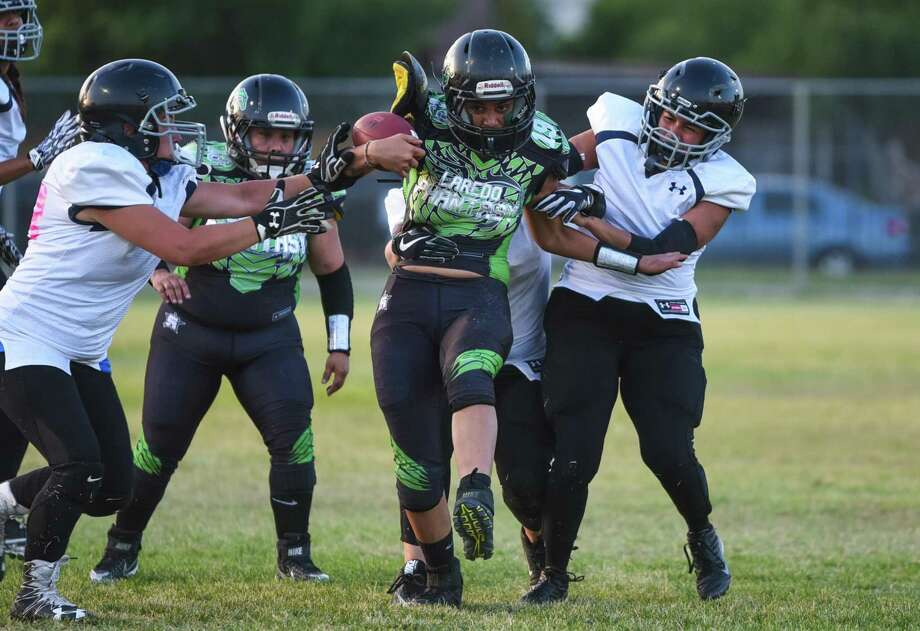 The Laredo Phantasy (2-6) ended their regular season with a 71-45 road loss to the Rio Grande Valley Vixens (5-3) on Saturday. Photo: Danny Zaragoza /Laredo Morning Times File