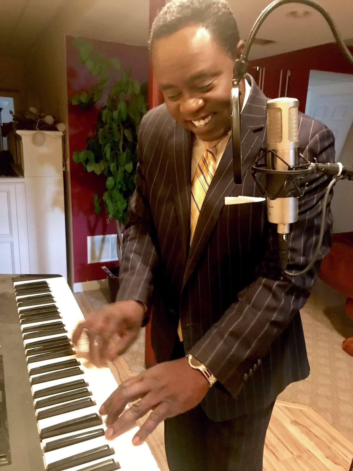 2. When I was in college, I had a recording contract with a record label. I write and produce music. I also play piano.