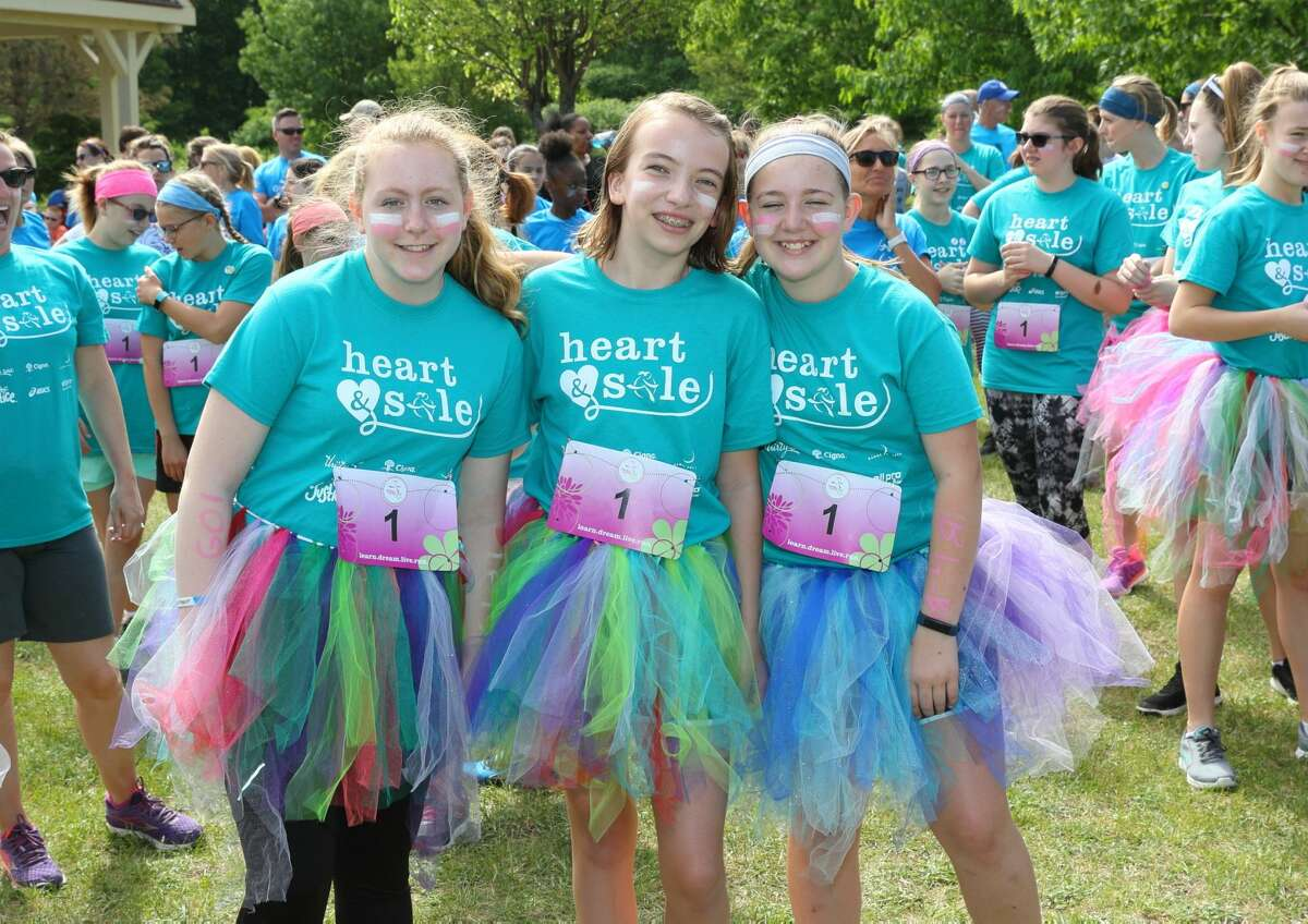 Were you Seen at the Girls on the Run 5K at The Crossings Park in Coloniein Albany on Sunday, June 3, 2018?