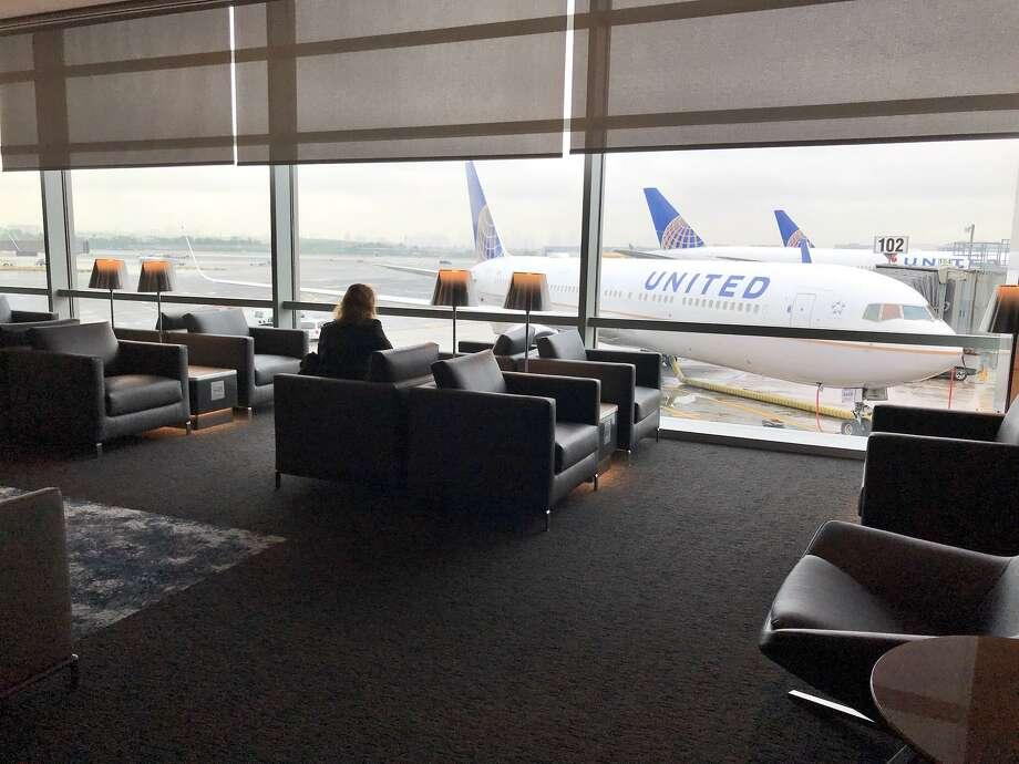 United Polaris business class lounge at Newark International Airport, Terminal C Photo: Chris McGinnis