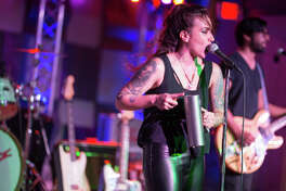 Girl in a Coma singer/guitarist, Nina Diaz, kicked off her Beat is Dead solo project Saturday, June 2, 2018, at the Limelight.