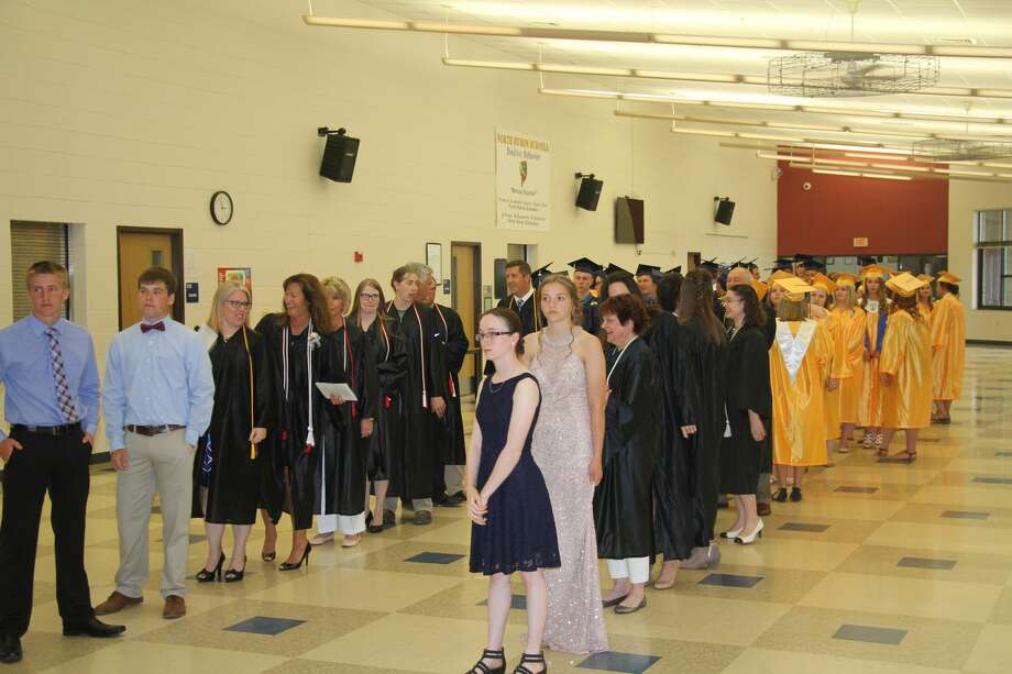 North Huron celebrated its 2018 graduation ceremonies, Sunday afternoon. Photo: Seth Stapleton/Huron Daily Tribune
