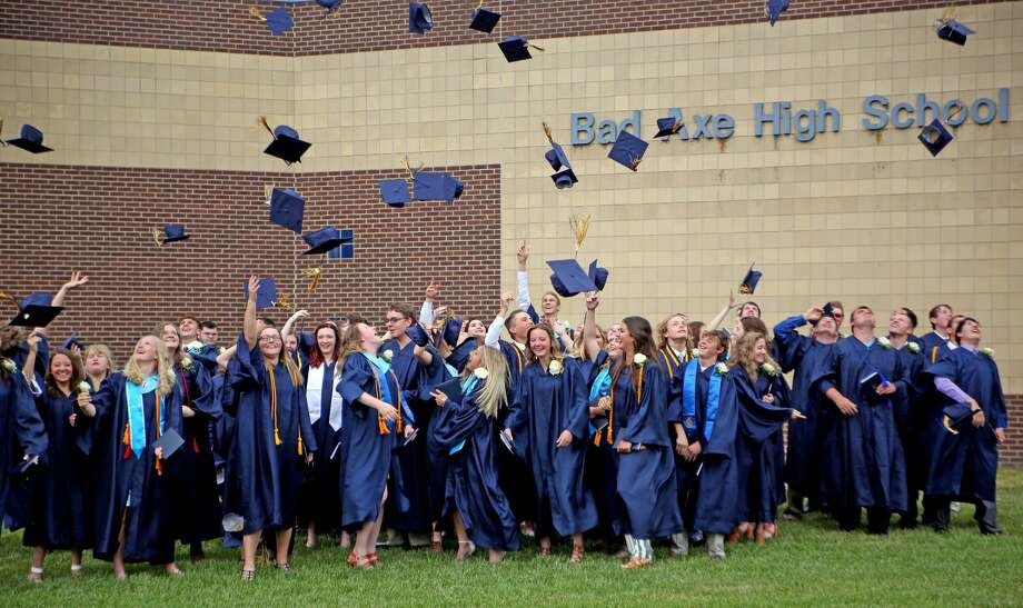 Bad Axe Hatchets Class of 2018 Photo: Paul P. Adams/Huron Daily Tribune