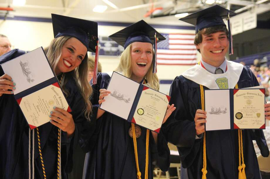 USA Graduation 2018 Photo: Mike Gallagher/Huron Daily Tribune