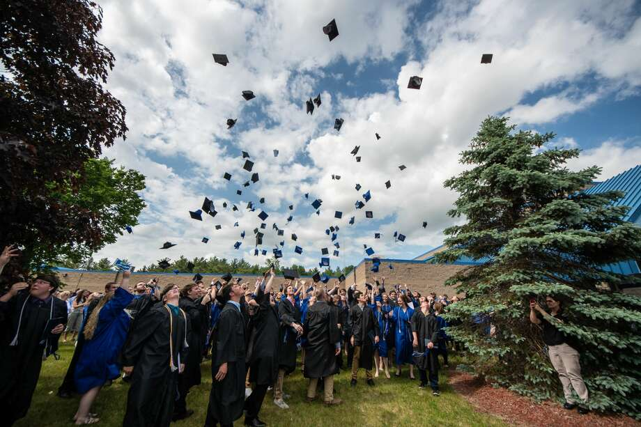 Scenes from Gladwin High School's commencement ceremony on Sunday, June 3, 2018 in the school's gymnasium. (Steven Simpkins/for the Daily News) Photo: Steven Simpkins/Midland Daily Ne, (Steven Simpkins/for The Daily News)