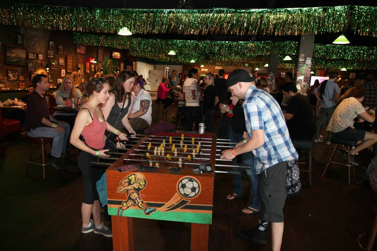 SAN FRANCISCO, CA - JUNE 02: Festivalgoers are seen in Paddy's Pub during Clusterfest at Civic Center Plaza and The Bill Graham Civic Auditorium on June 2, 2018 in San Francisco, California. (Photo by FilmMagic/FilmMagic)