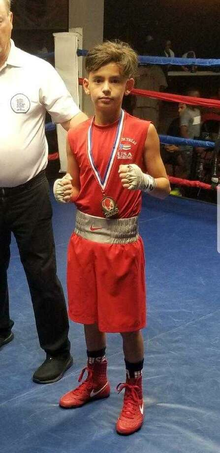 Mason Vela from Boxing Pride Fitness is making a fourth straight trip to the Junior Olympics National Tournament and is seeking his third title in that span. Photo: Courtesy Photo