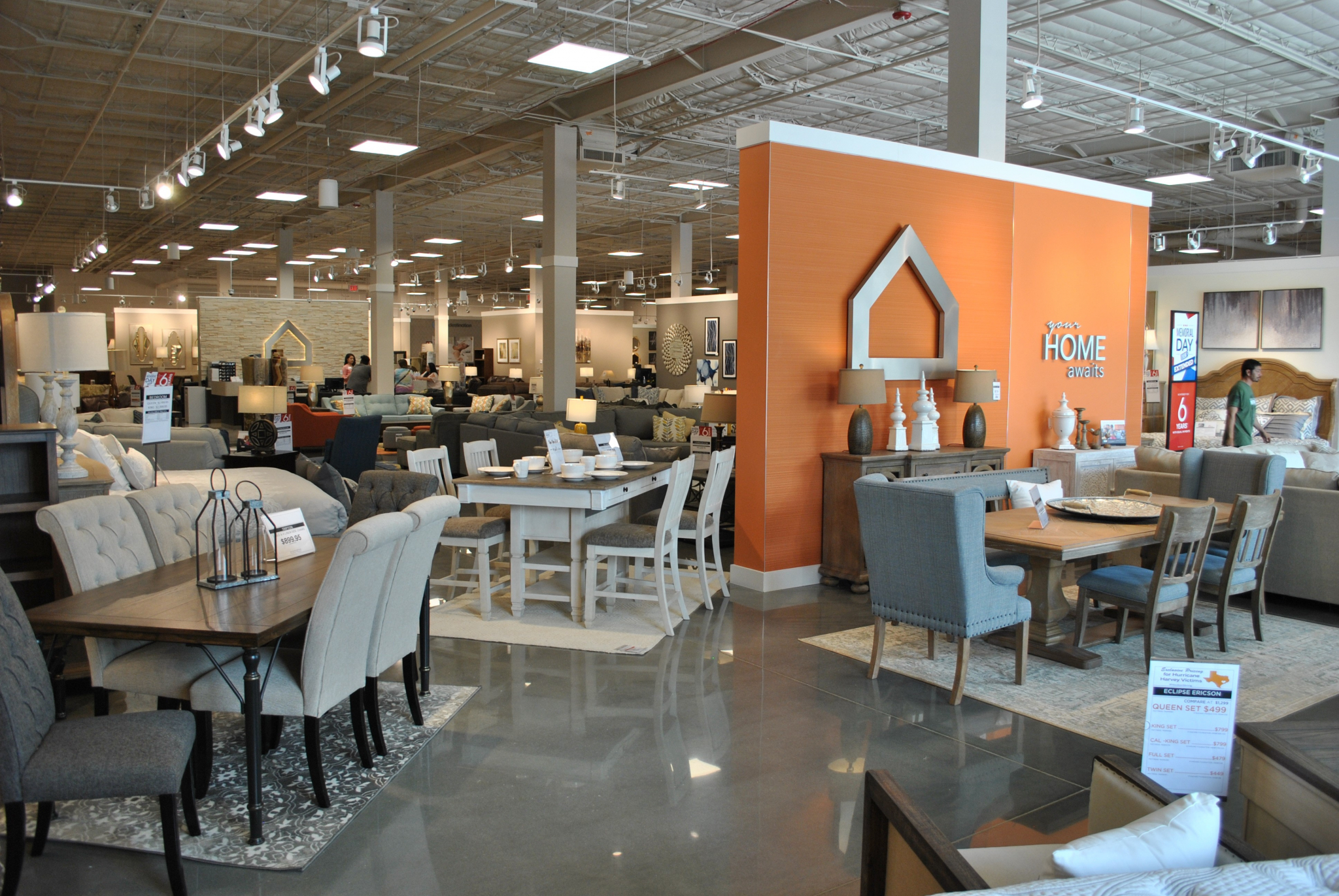 Picture of: Ashley Homestore Opens Permanent Location In Lake Jackson