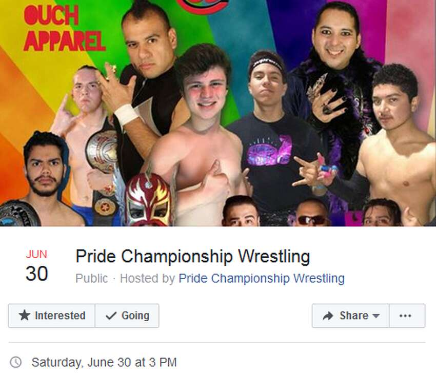 Pride Championship Wrestling Crockett Park June 30, 3 p.m. The professional wrestling organization, is the