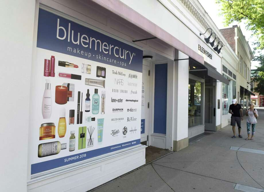 The soon-to-open Blue Mercury makeup and skincare store on Greenwich Avenue in Greenwich, Conn., photographed on Tuesday, May 29, 2018. Photo: Tyler Sizemore / Hearst Connecticut Media / Greenwich Time