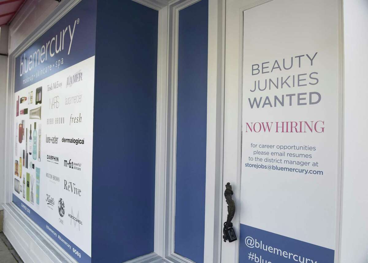 The soon-to-open Blue Mercury makeup and skincare store on Greenwich Avenue in Greenwich, Conn., photographed on Tuesday, May 29, 2018.