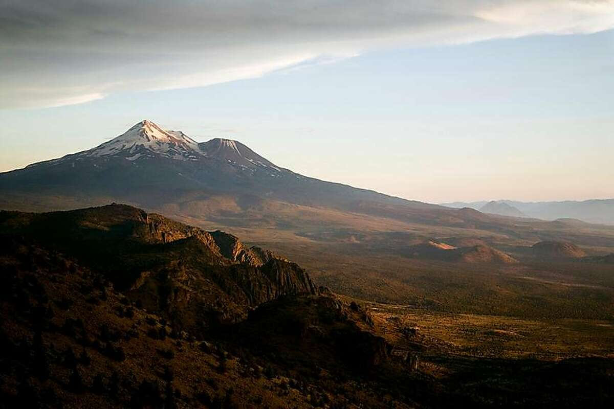 A view of Mount Shasta.