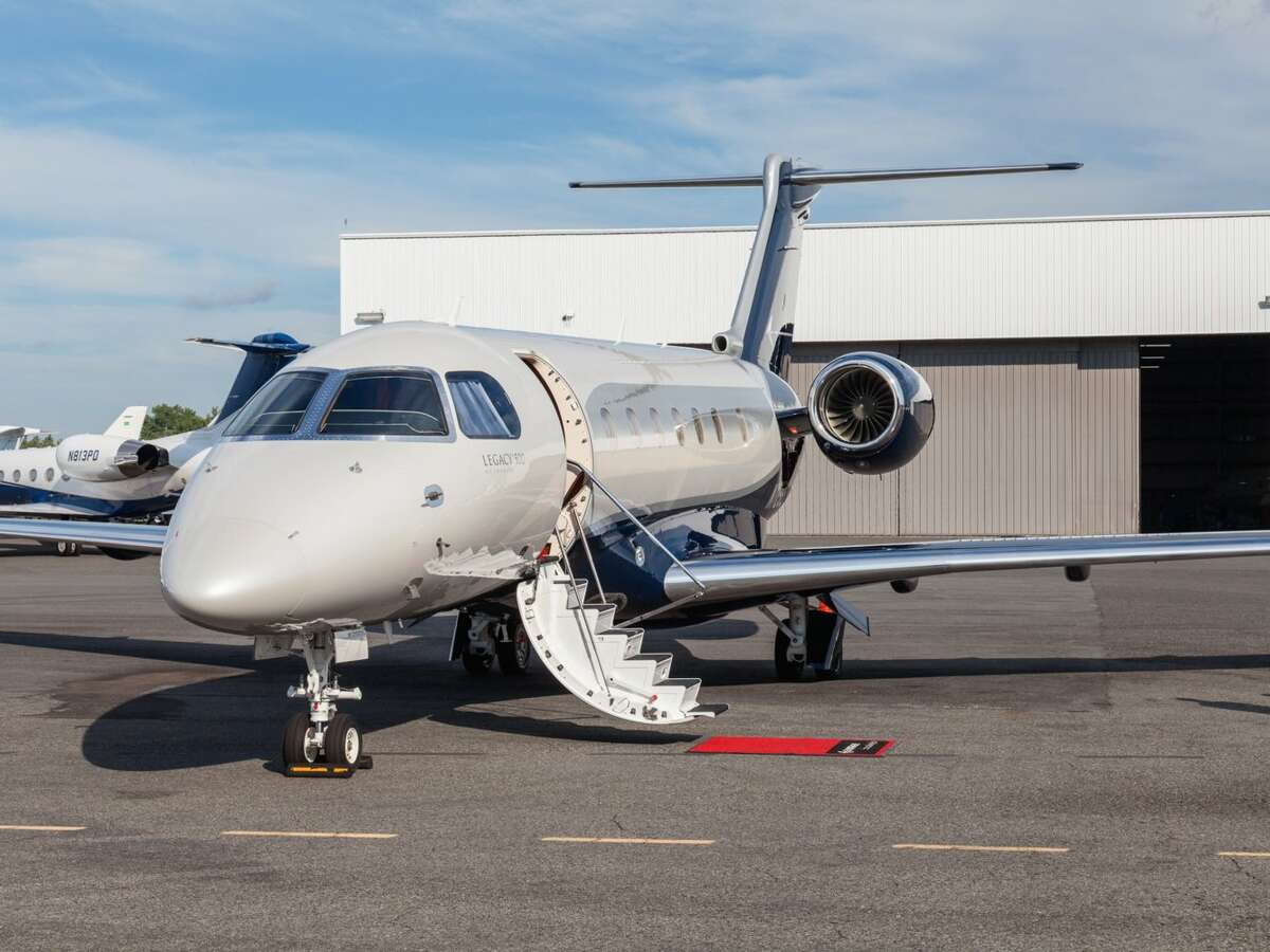 1. Embraer Legacy 500:Unlike, the other jets on this list, the Embraer Legacy 500 is a midsize plane designed to operate shorter routes. At