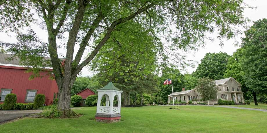 Exterior View Of The DeMaranville Farm And Gardens Monday June 4, 2018, In  Saratoga