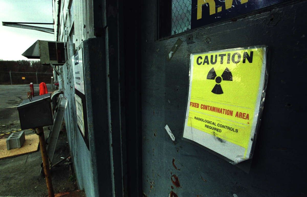 Federal energy officials are seeking state permission to store radioactive and hazardous waste collected during a troubled, decade long cleanup at Knolls Atomic Power Laboratory. The waste came from cleanups at the former Separations Process Research Unit, where atomic weapons research was done from 1950 through 1953. (Times Union File Photo/Paul Buckowski)