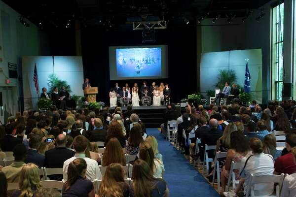 Stanwich School held their commencement ceremony at the school in Greenwich, Conn. on Friday, June 1, 2018. This was the fifth graduating class at the private school.