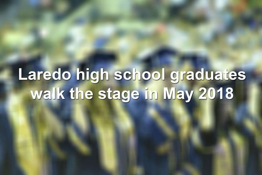 Keep scrolling to see moments captured during Laredo high school graduations in 2018. Photo: Laredo Morning Times