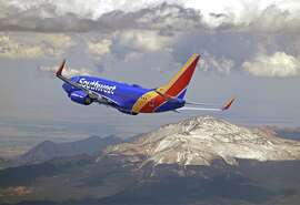 Southwest is growing at San Jose, shrinking at San Francisco International.