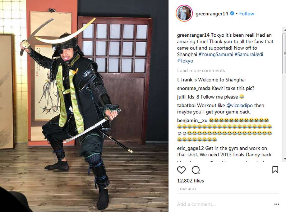 greenranger14: Tokyo it's been real! Had an amazing time! Thank you to all the fans that came out and supported! Now off to Shanghai #YoungSamurai #SamuraiJedi #Tokyo Click through the slideshow to see more photos of the Green in Japan. Photo: Instagram.com Screengrabs