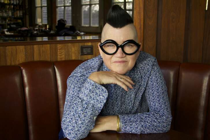 Lea DeLaria will be in San Francisco June 13 for �Bowie, Jazz and Comedy� at SFJazz Makeup: Tina Turnbow. Hair: B Paul.