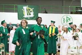 Here are scenes of Elkton-Pigeon-Bay Port Laker's graduation ceremony on Sunday.