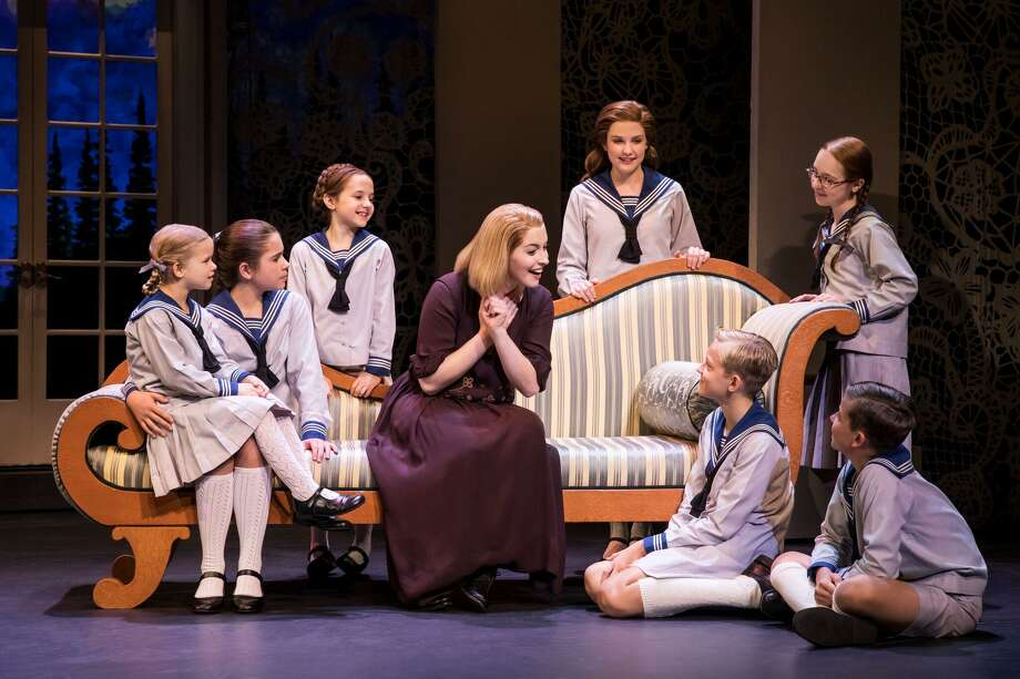 """Jill-Christine Wiley as Maria Rainer in the touring production of """"The Sound of Music."""" Photo: Matthew Murphy / Matthew Murphy"""